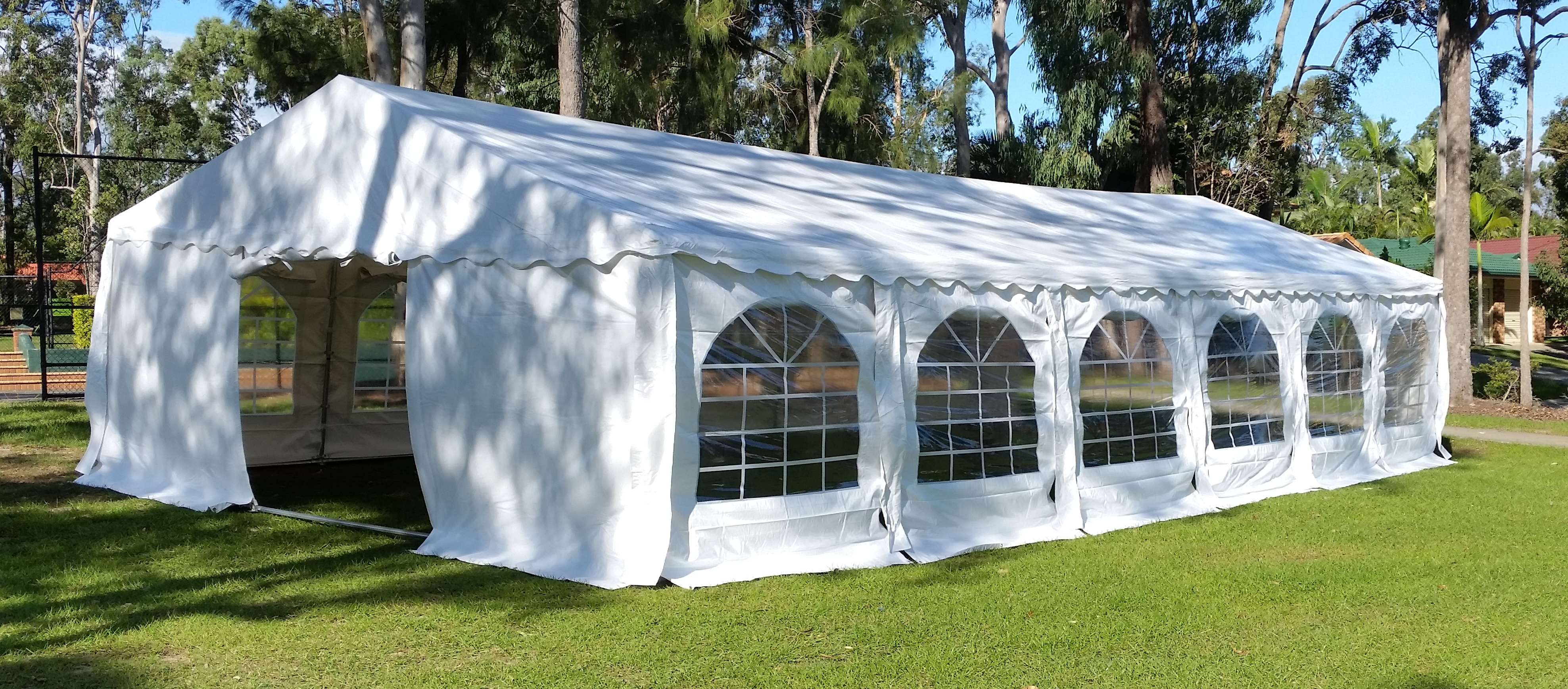 6x12m marquee at park
