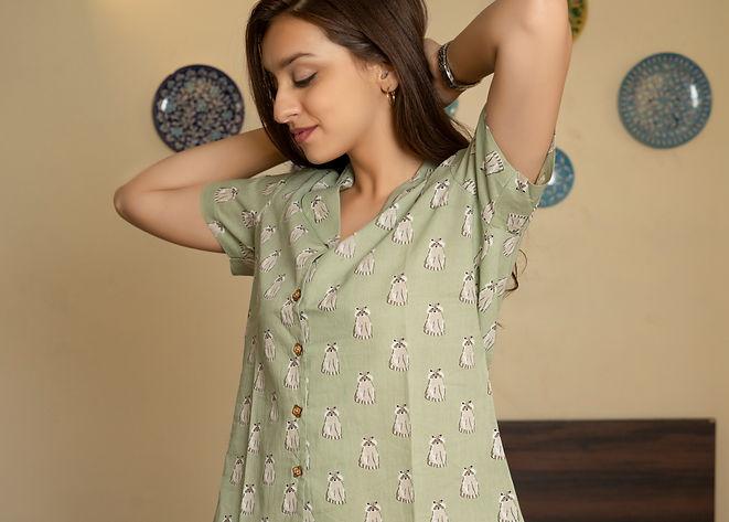 Cotton pajamas and night suit