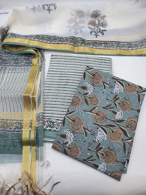 Brown Mint Suit Set