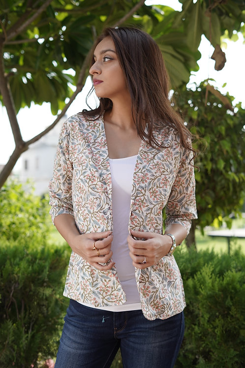 Pastel Love Cotton Blazer