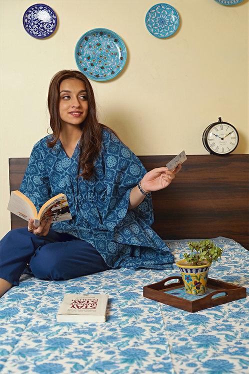 Amber Kaftan Pajama Night Suit