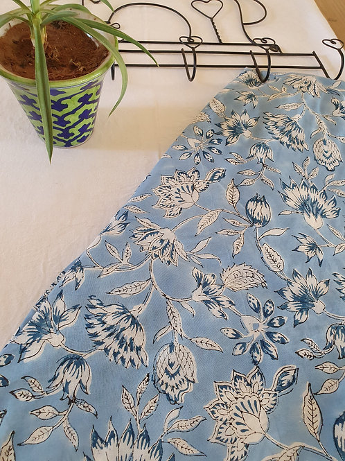 Blue Lily Fabric