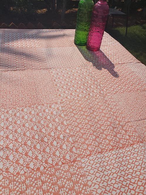4 seater Jaipuri Printed Table Cover