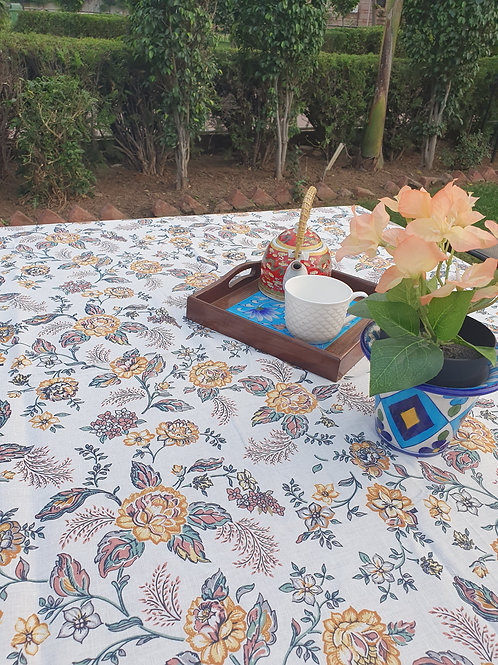 Autumn Roses Table Cover