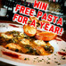 1st Winner of Free Pasta for a Year!