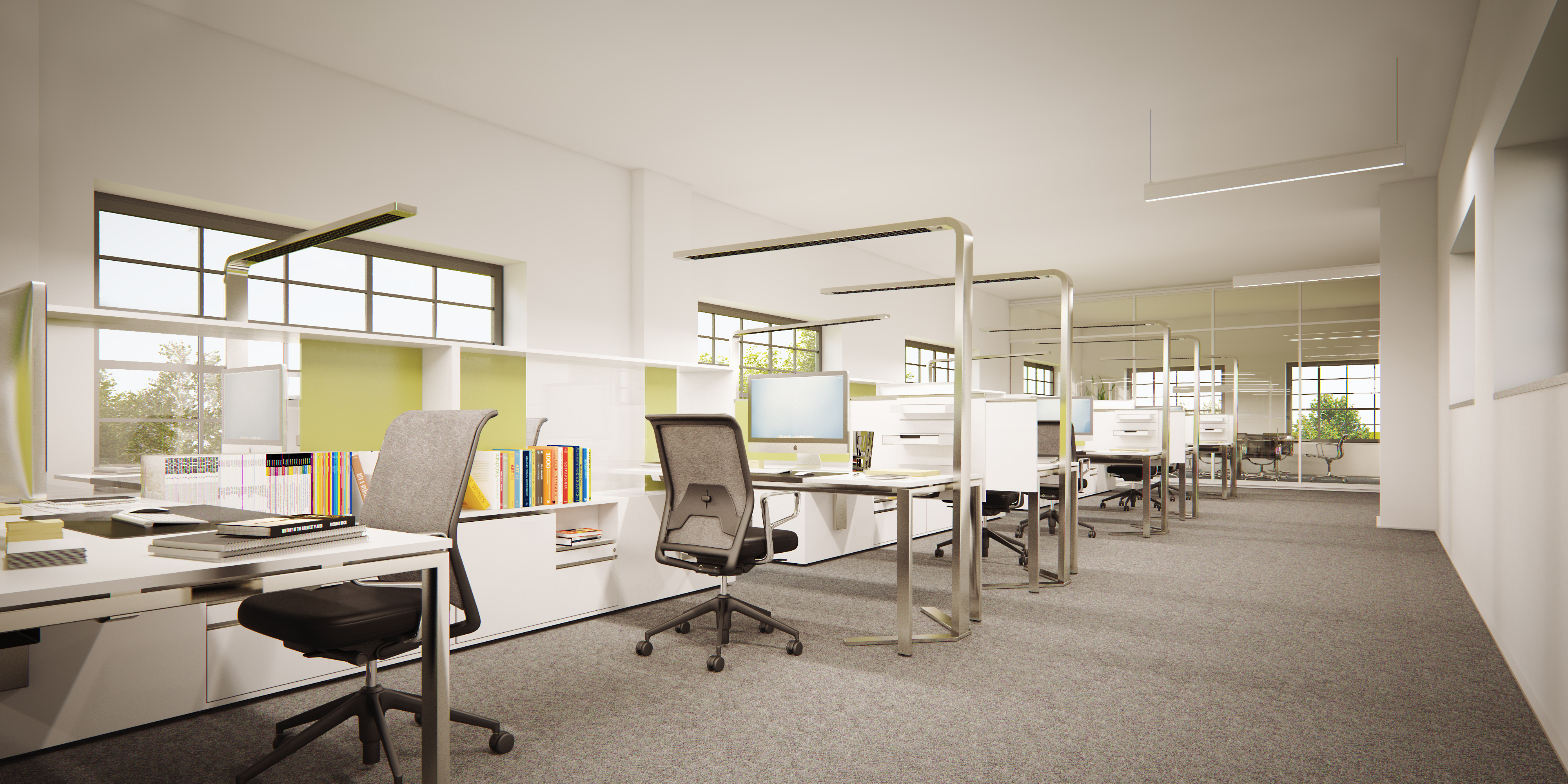 Jede Büroform ist möglich