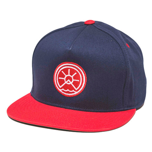 COOL HAT: RED & BLUE
