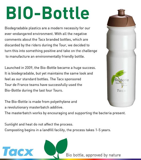 Custom Printed Tacx Shiva Bio Bottles