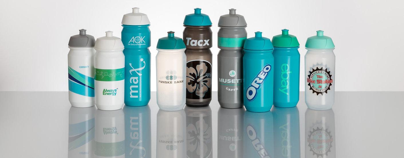 Tacx Shiva Branded Sports Bottles