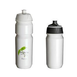 Biodegradable plastic printed sports bottles