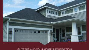 How fixing high levels of moisture in a basement start with your guttering.