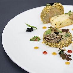 Terrina di foie gras al Porto, perlage a