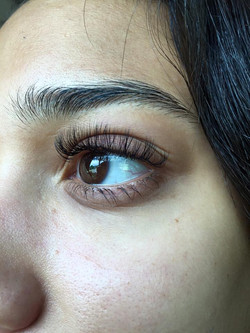 Eyelash Extensions Before After