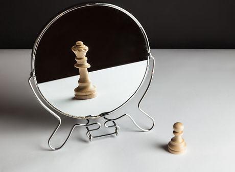 Chess in mirror..jpg
