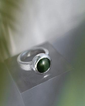 Ponamu Silver Ring