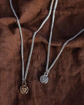 Silver Heart Necklace NZ