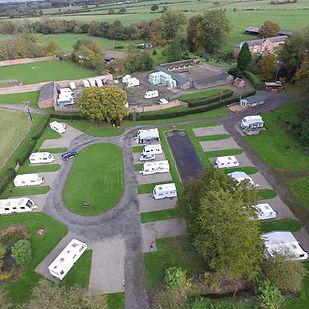 Garys aerial view. #drone #caravanpark #