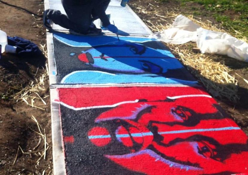 Sidewalk Art Project