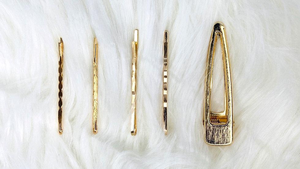 Gold Hair Clip 2