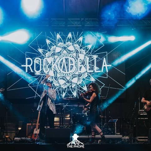 Rockabella on stage - Iasi