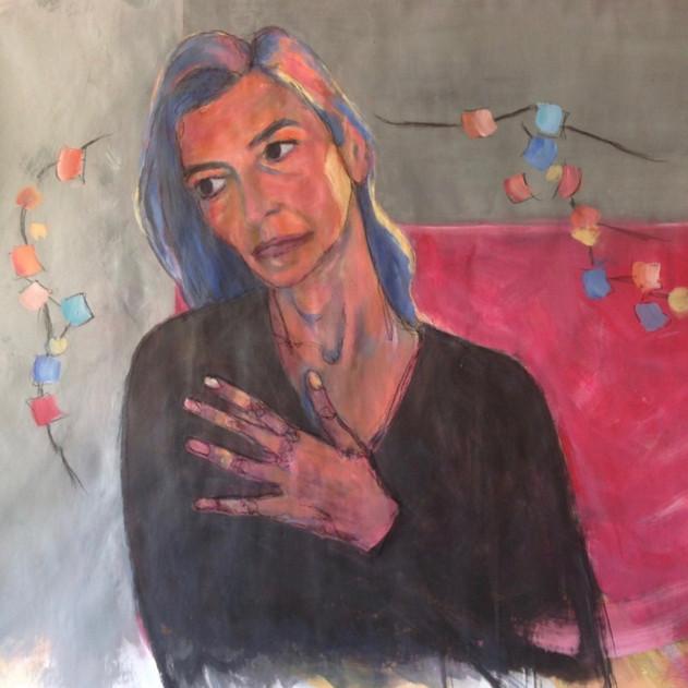 Self Portrait, Inspired by Schielle