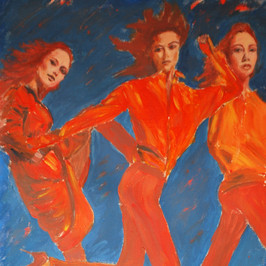 Les Demoiselles - au Rouge