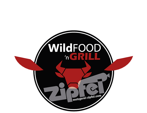 logo_wildFOOD_nGrill_Geweih-Weiss ohne H