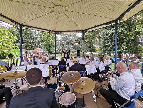 Canbury Gardens Band Stand, Kingston