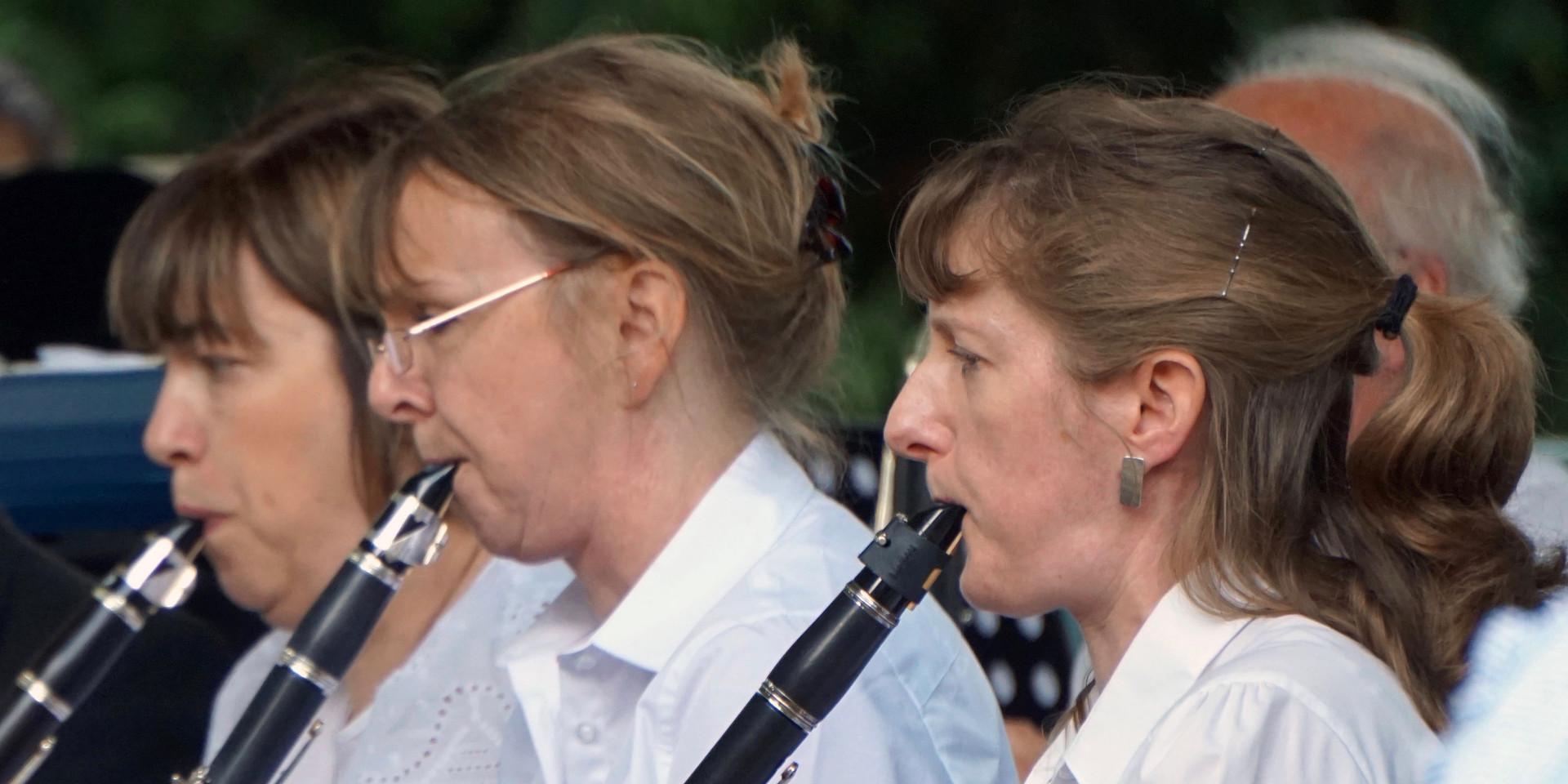 Clarinets at Canbury Gardens