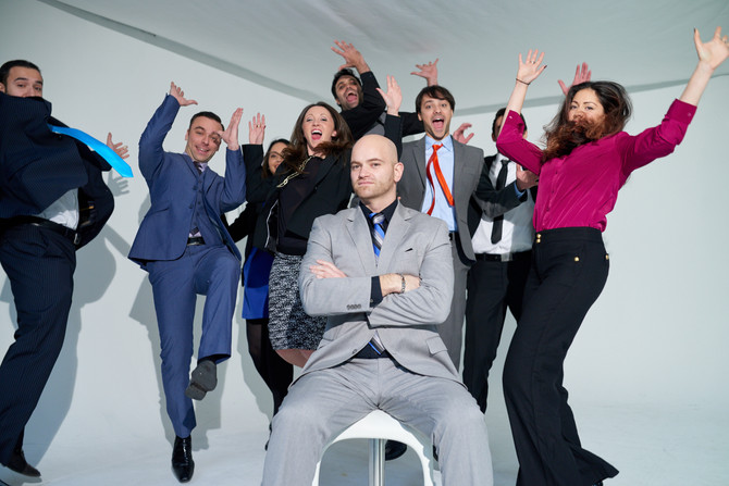 News: What Do You Get When 9 Marketing Coaches Gather For A Photoshoot?