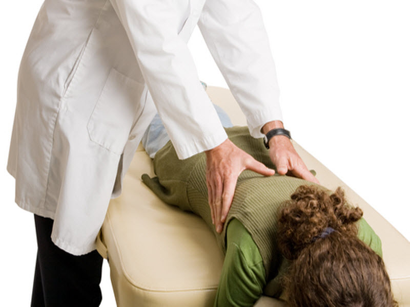 Chiropractor Back Adjustment
