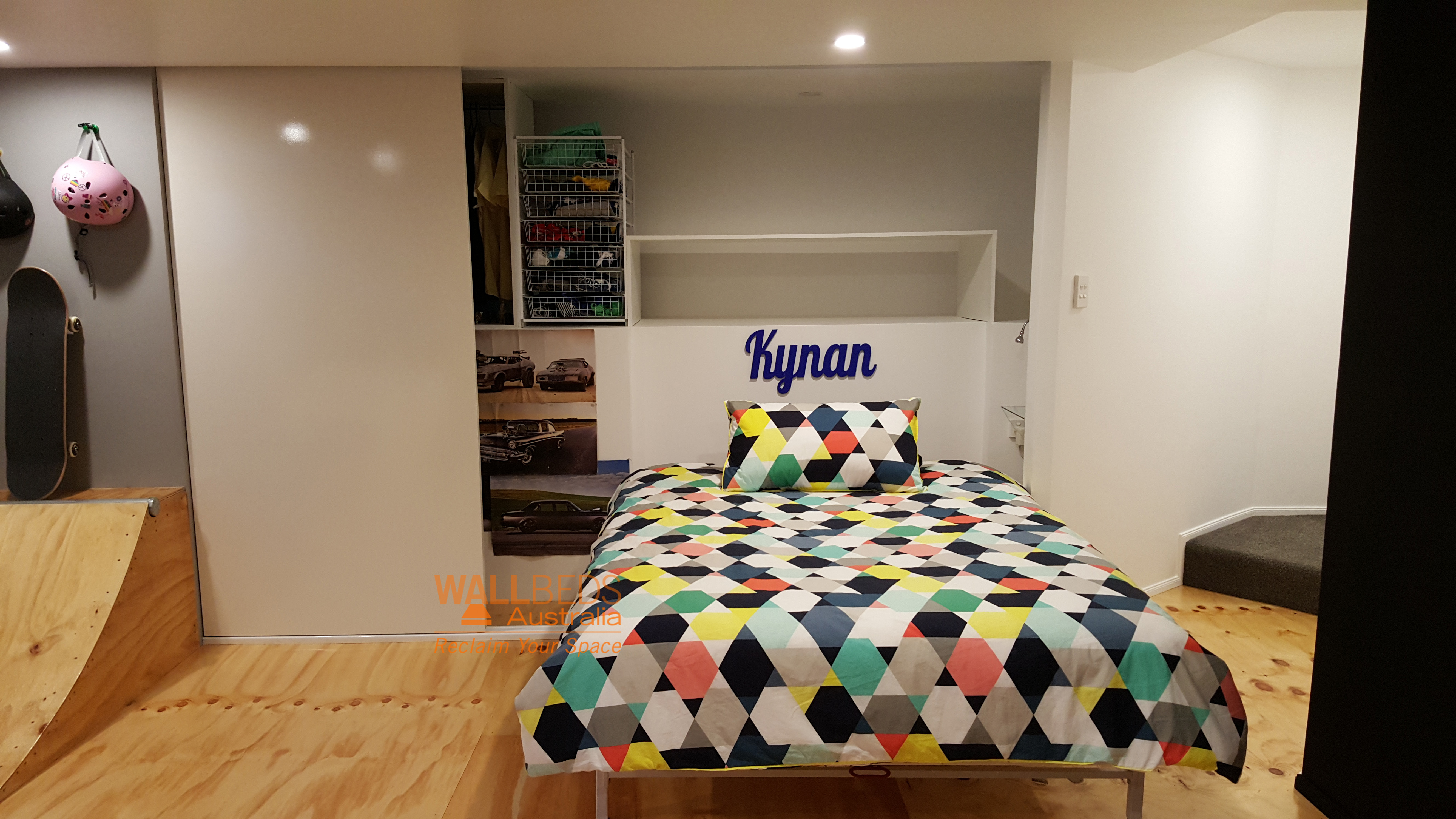 NeXt Bed in a closet - open