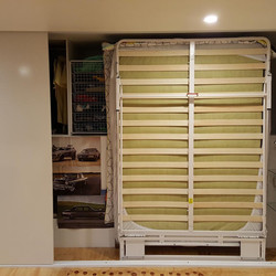 Next Bed Frame in Cupboard