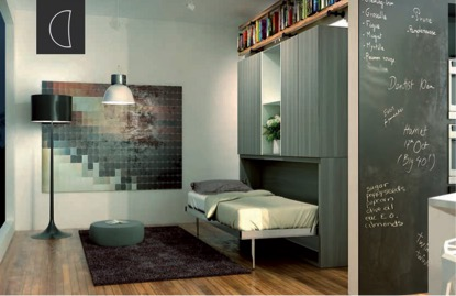 FLAT horizontal bed