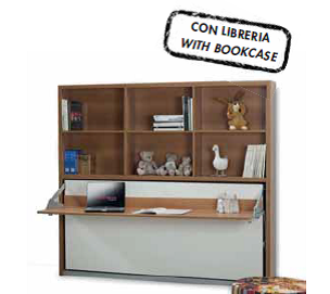 SmartBeds Joker with Bookcase