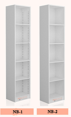 Bookcase options for the NeXt Beds