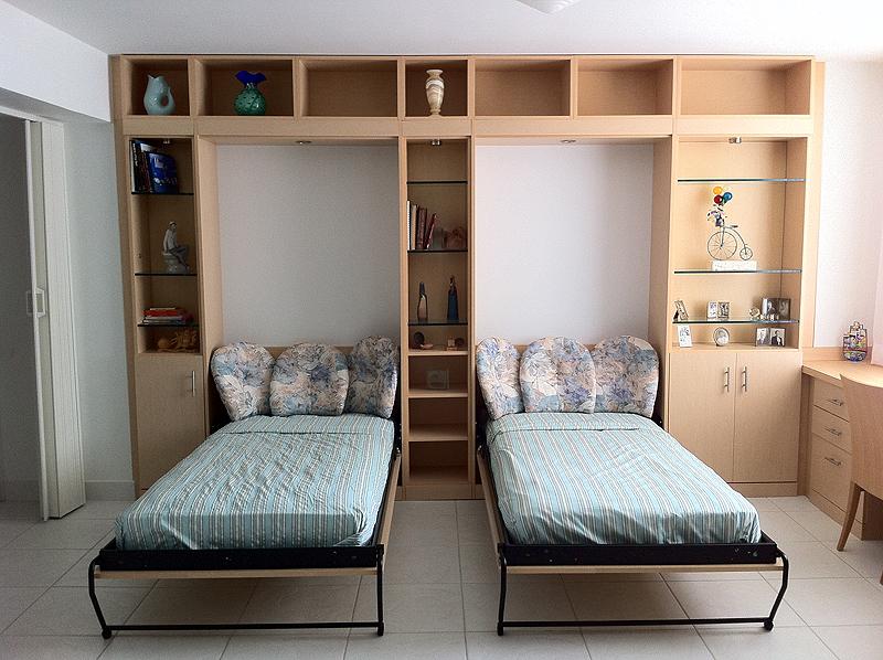 2 single Alpha beds