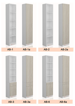 ALPHA bed bookcase options