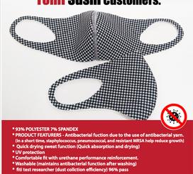 My Tommi Sushi Mask