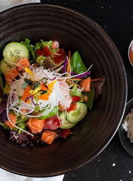 Korean Spicy Sashimi Bowl