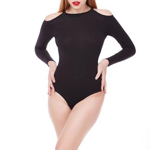 Black Bodysuit/Cotton