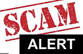 Scam alerts. Cyber security