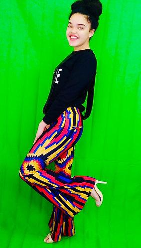 Multicolored pant