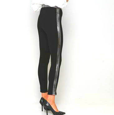Black legging.