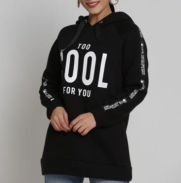 Too cool for you hoodie