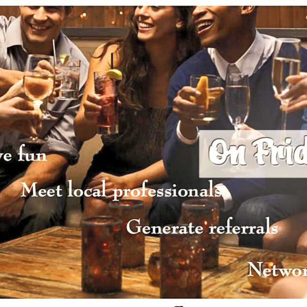 EVERY FRIDAY - After work Network Experience