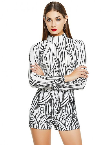 Zebra Romper