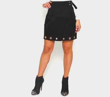 Gold ring skirt