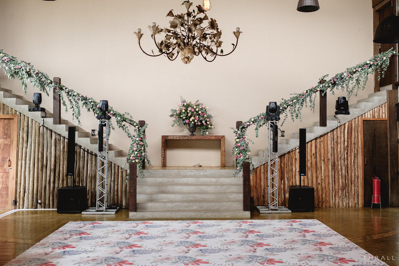 Escada do salão