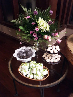 Detalhe mesa de doces